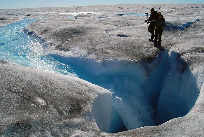 Greenland ice may be melting faster than previously thought