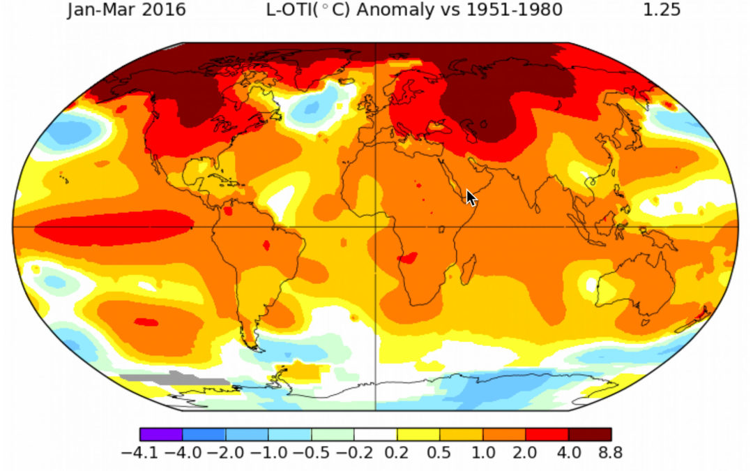 Even for the fast-melting Arctic, 2016 is in 'uncharted territory'
