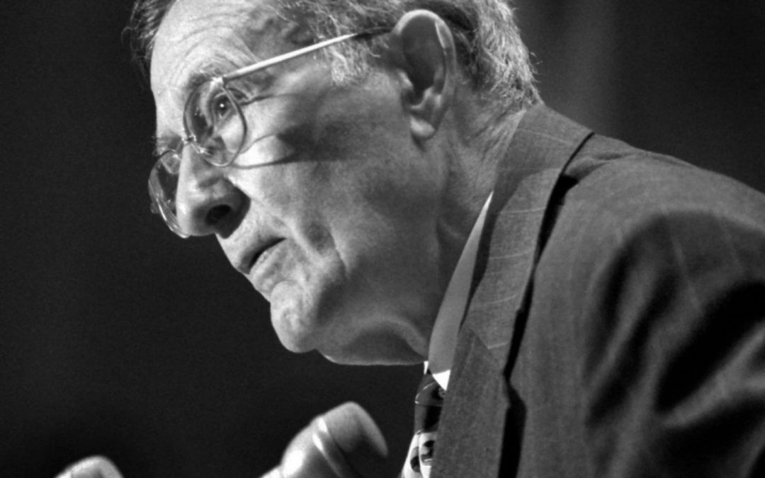 John H. Chafee, the late Republican senator from Rhode Island. He died in 1999. (Ray Lustig/The Washington Post)