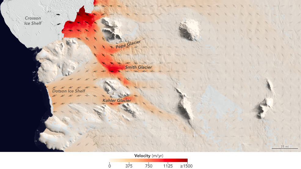 Accelerated glacier melting in West Antarctica documented
