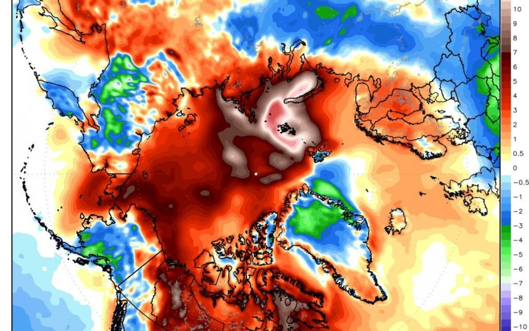 'Beyond the extreme': Scientists marvel at 'increasingly non-natural' Arctic warmth