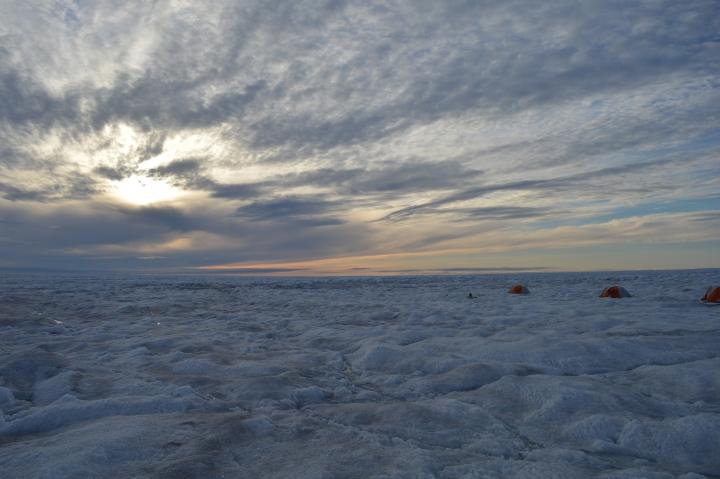 Sunnier Skies Driving Greenland Surface Melt