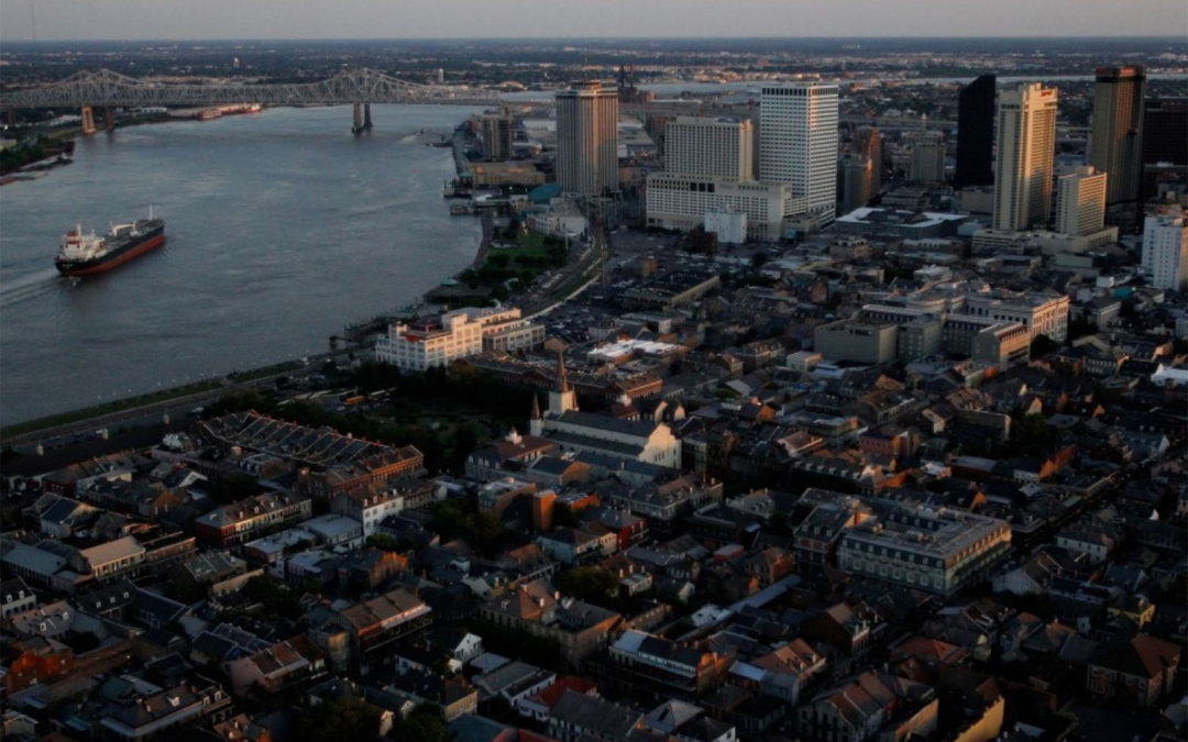 Scientists say the rapid sinking of Louisiana's coast already counts as a 'worst case scenario'