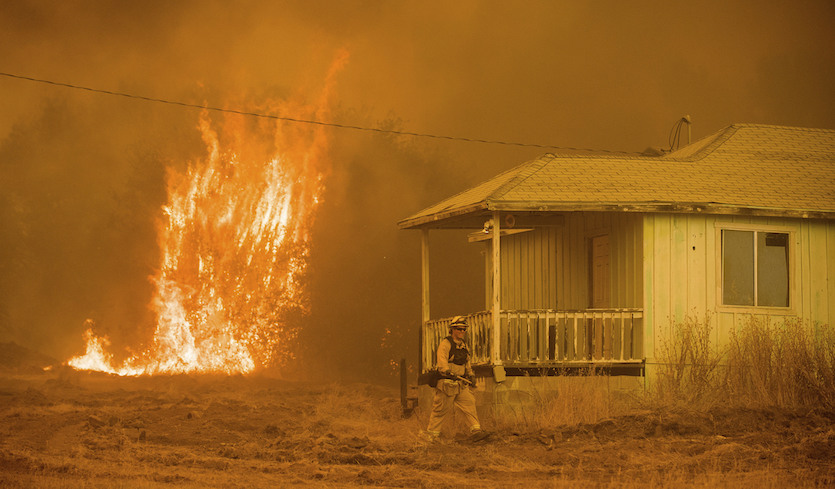 States of Emergency in California and British Columbia from Raging Wildfires