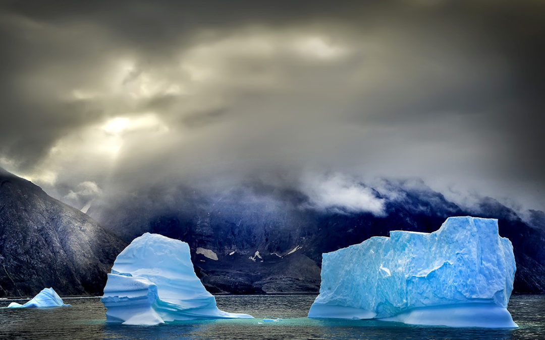 Melting ice may be making mountains collapse in Greenland