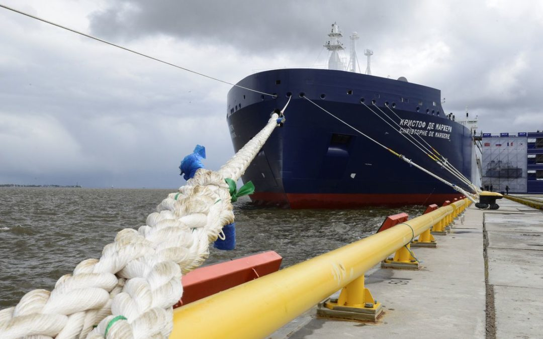 Russia's new Arctic super-tanker brings Norwegian LNG to Asia