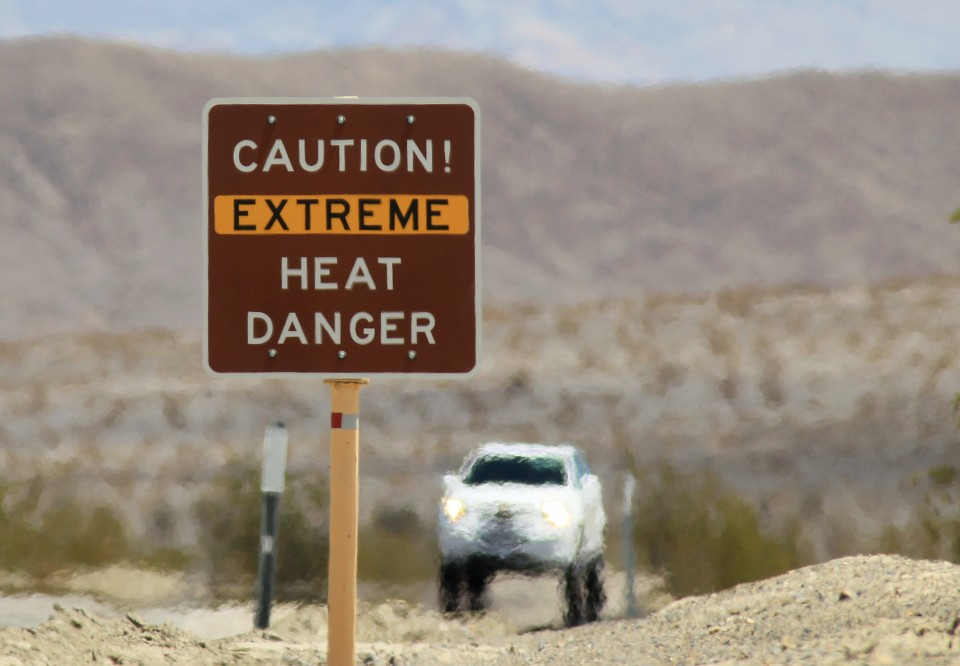 Death Valley just experienced the hottest month ever recorded in the U.S.
