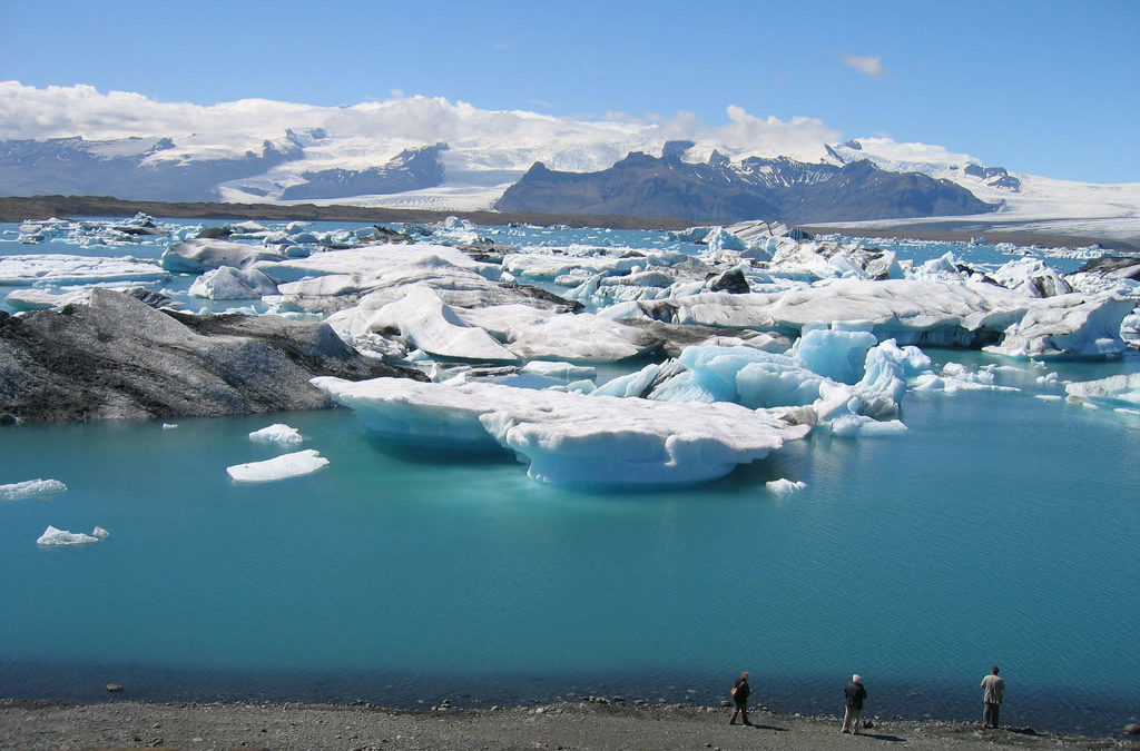 As glaciers melt, 'Land of Fire and Ice' watches its history seep away