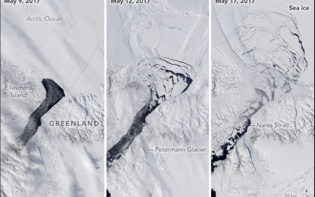 Forget That Big Iceberg–A Smaller One in the Arctic Is More Troubling