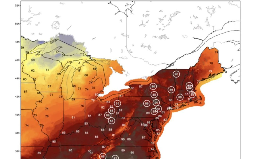 Late-September heat wave leaves climate experts stunned