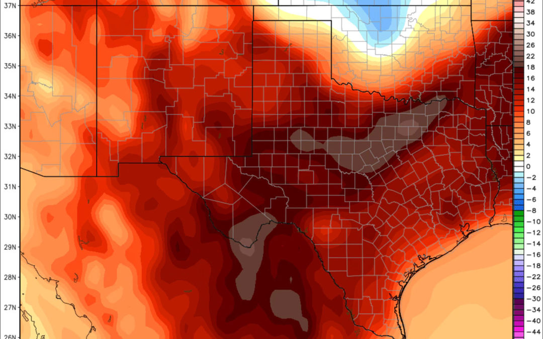 Dallas had never hit 90 degrees in November. It just did so three of the past four days.
