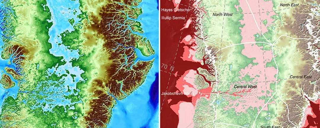 New Greenland Maps Show More Glaciers at Risk