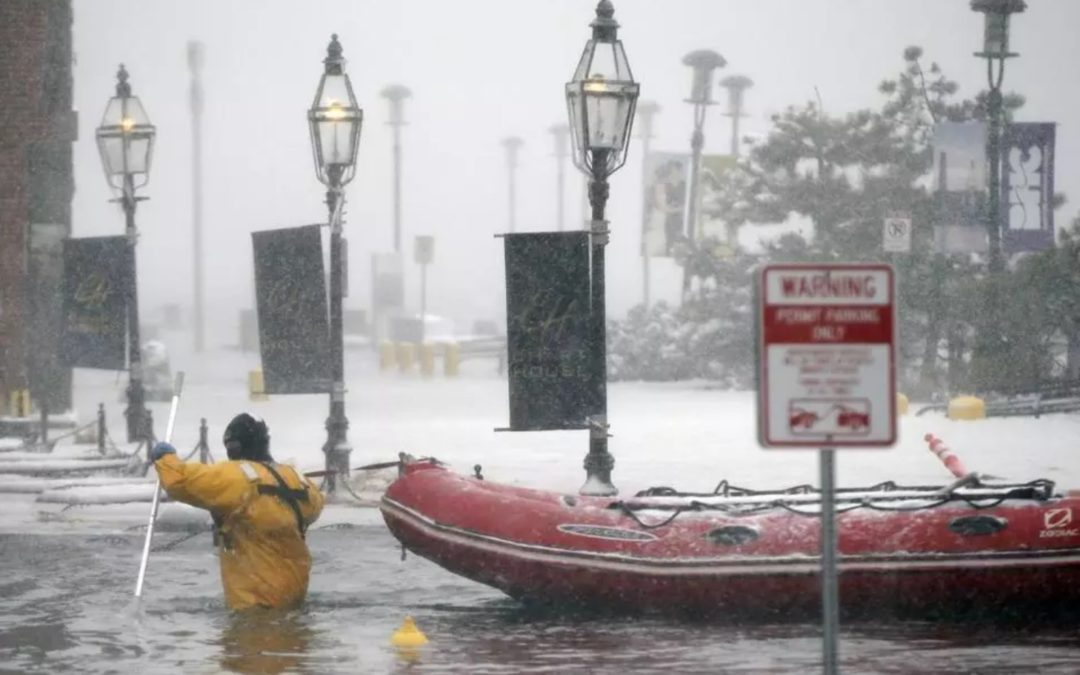 Floods seen as warning of Boston's future