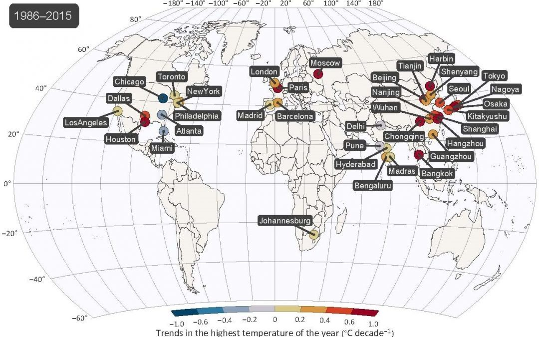 Rise in severity of hottest days outpaces global average temperature increase