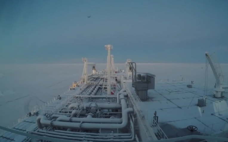 First ship crosses Arctic in winter without an icebreaker as global warming causes ice sheets to melt