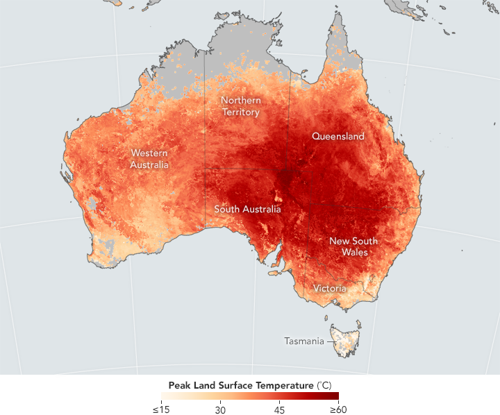 Melbourne and Sydney should prepare for 50-degree Celsius days