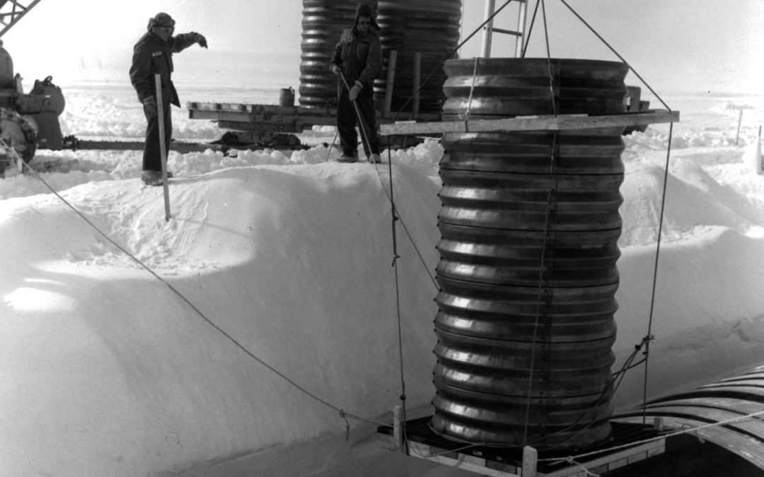 Melting ice could unleash hazardous waste from abandoned Cold War project