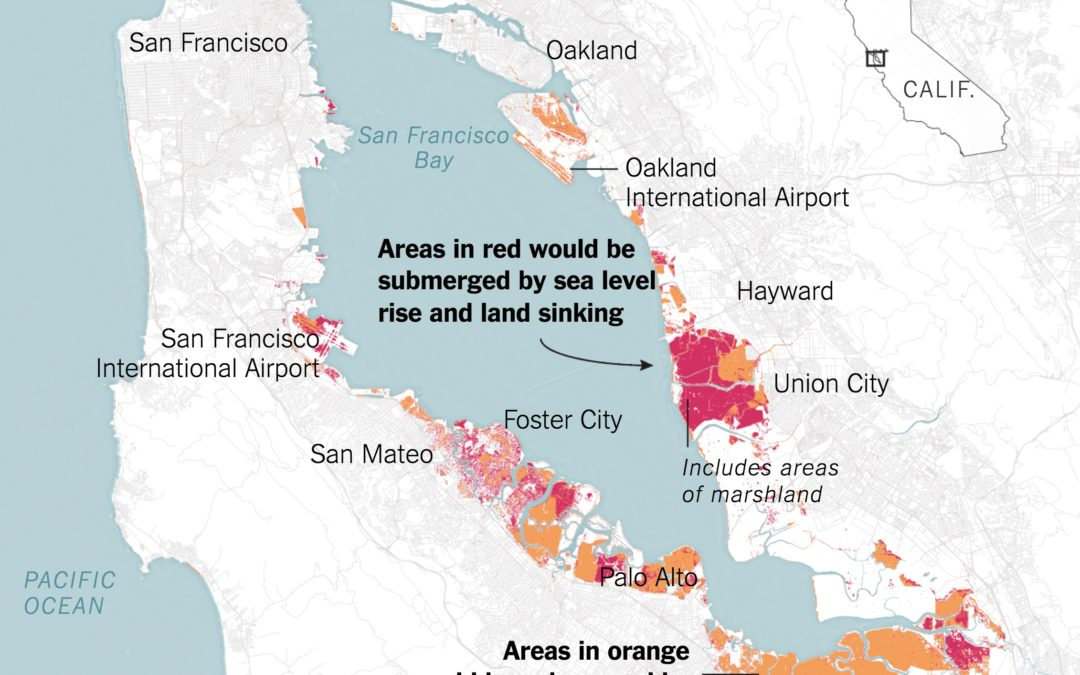 More of the Bay Area Could Be Underwater in 2100 Than Previously Expected