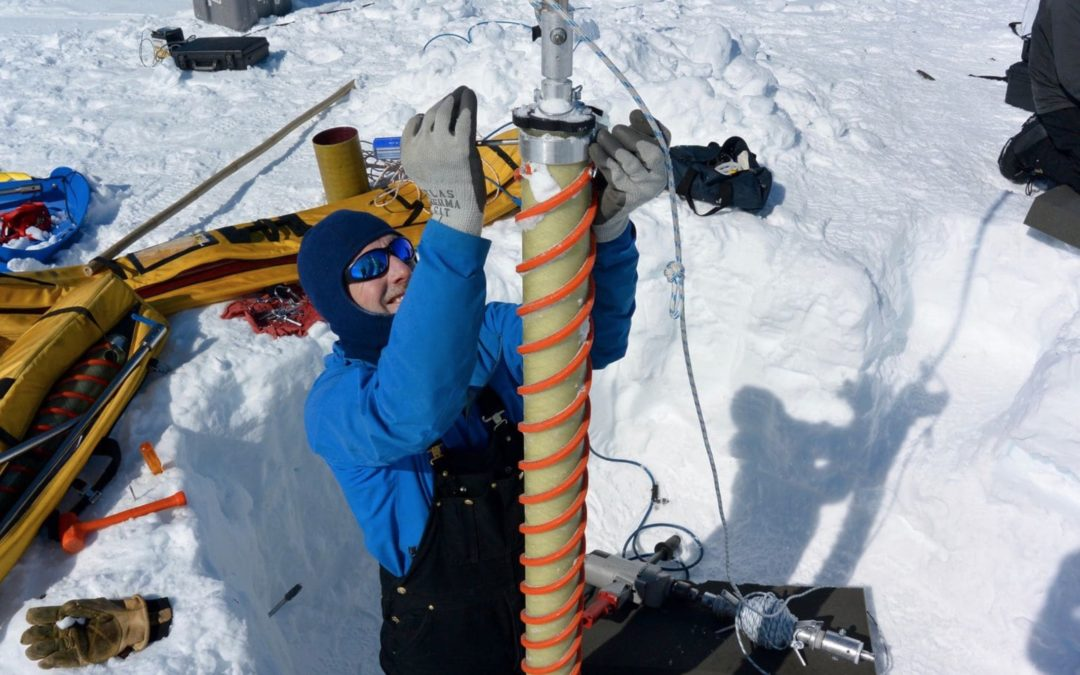 Ice cores show Greenland's melting is unprecedented in at least four centuries