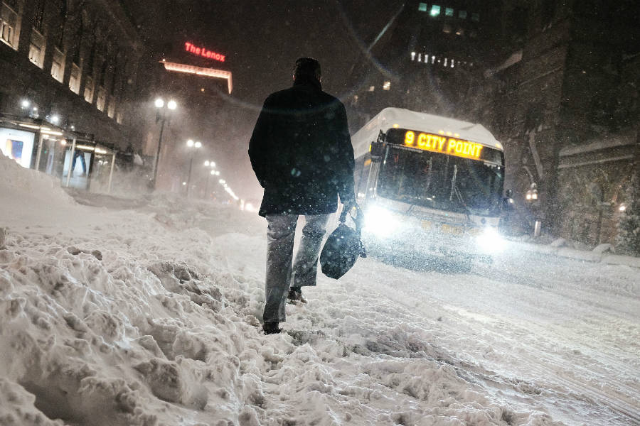 Warm Arctic? Expect Northeast Blizzards: What 7 Decades of Weather Data Show