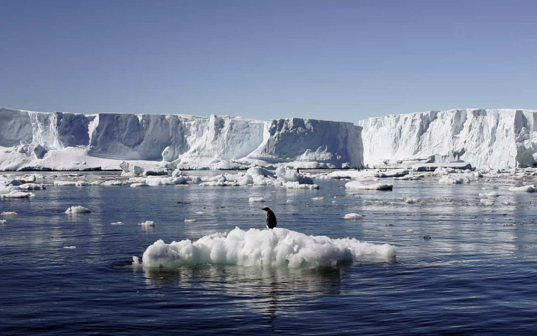 Underwater melting of Antarctic ice far greater than thought, study finds