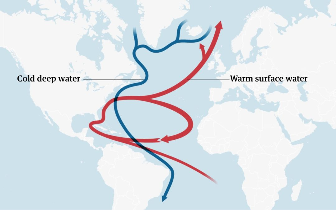 Gulf Stream current at its weakest in 1,600 years, studies show