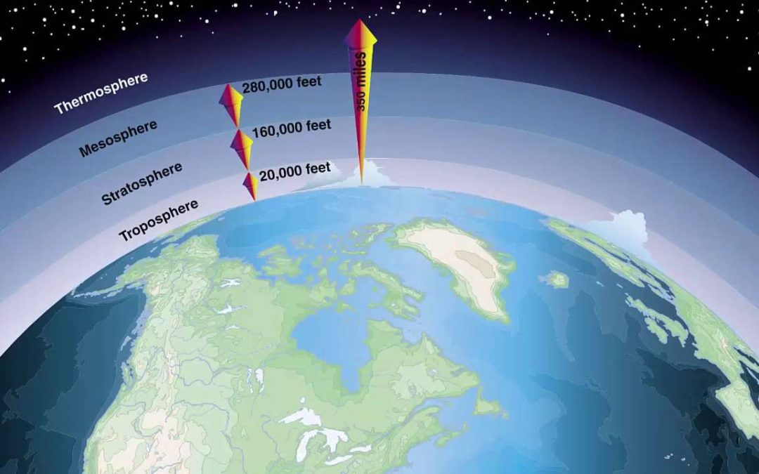 Tiny particles high up in the sky give insight into climate change