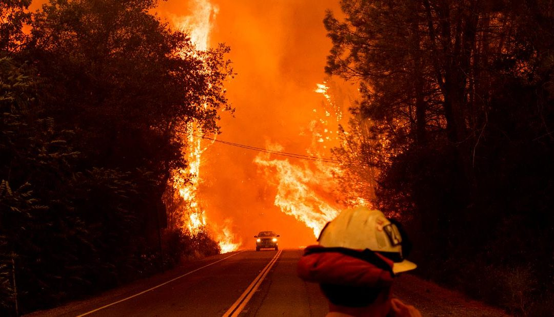 How climate change is making disasters like the Carr Fire more likely