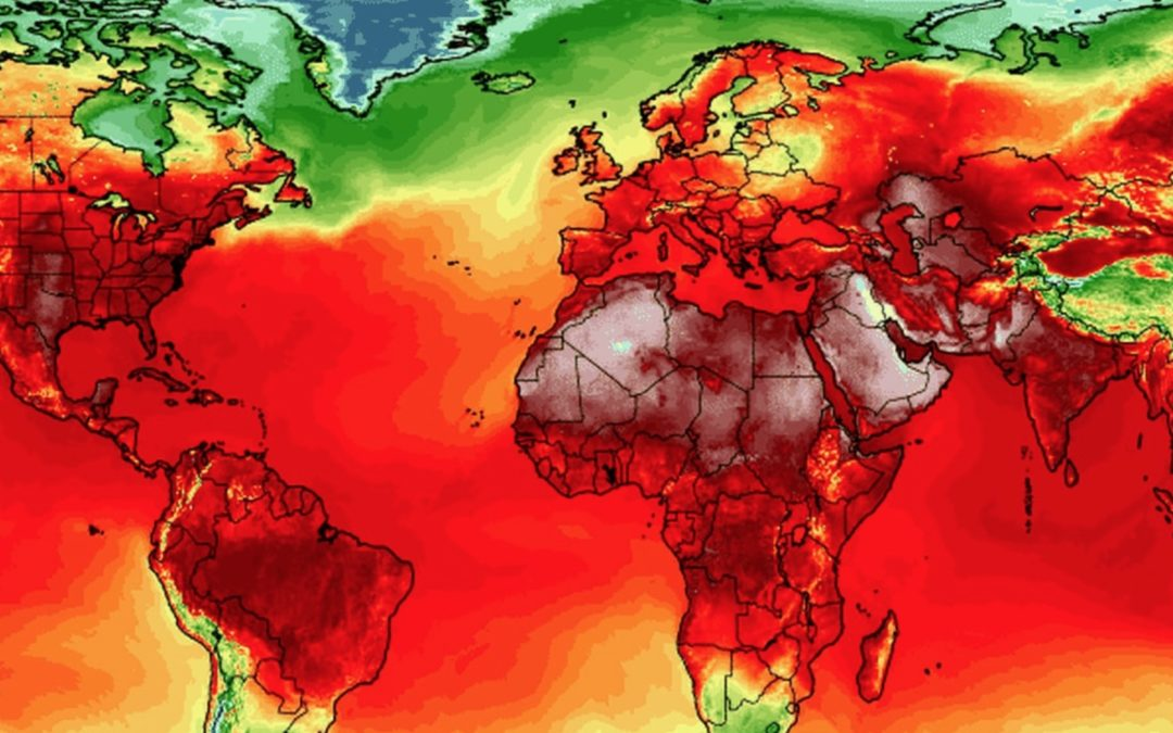 Red-hot planet: All-time heat records have been set all over the world during the past week