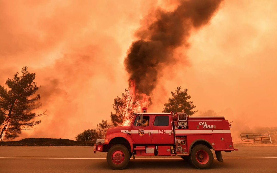 Huge wildfires are spreading in California, Oregon, and Colorado. They're poised to get worse.