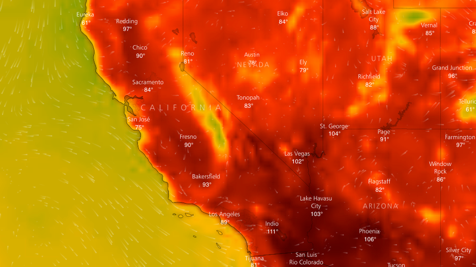 California hit with two heat waves in less than a month.