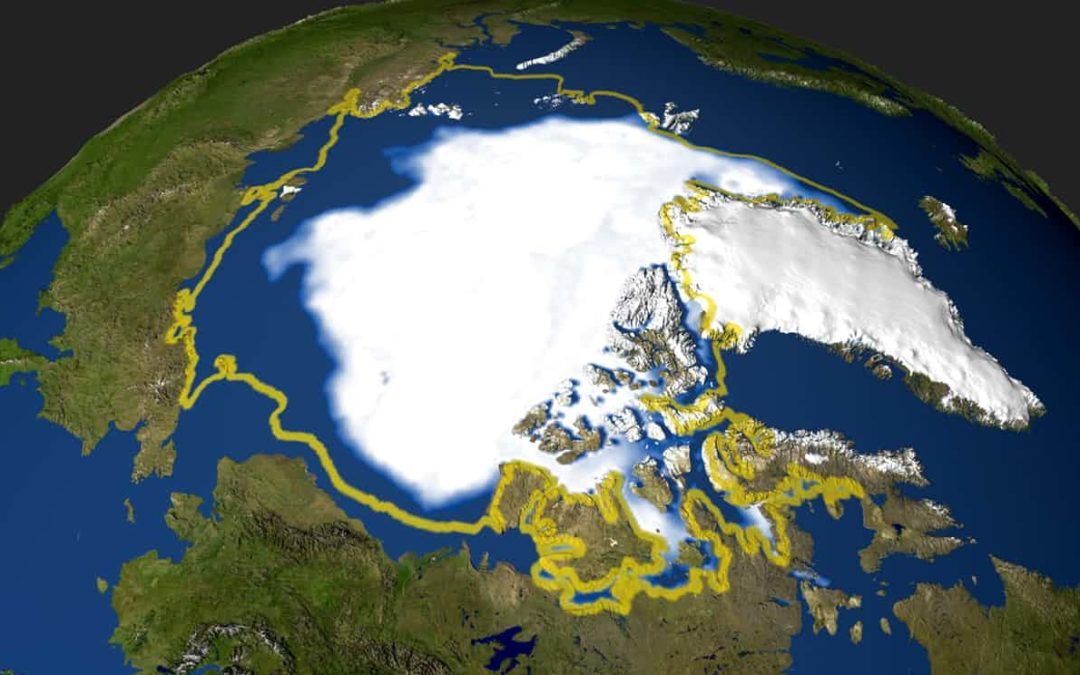 Pollution is slowing the melting of Arctic sea ice, for now