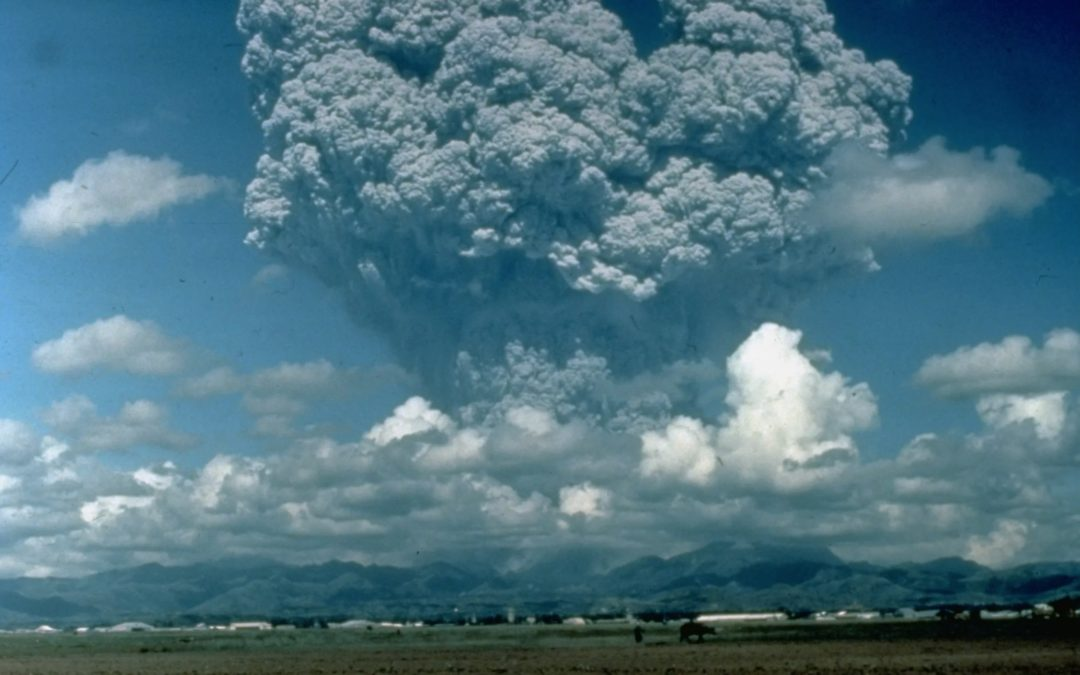 Volcanoes show why solar geoengineering can't save our food from climate change