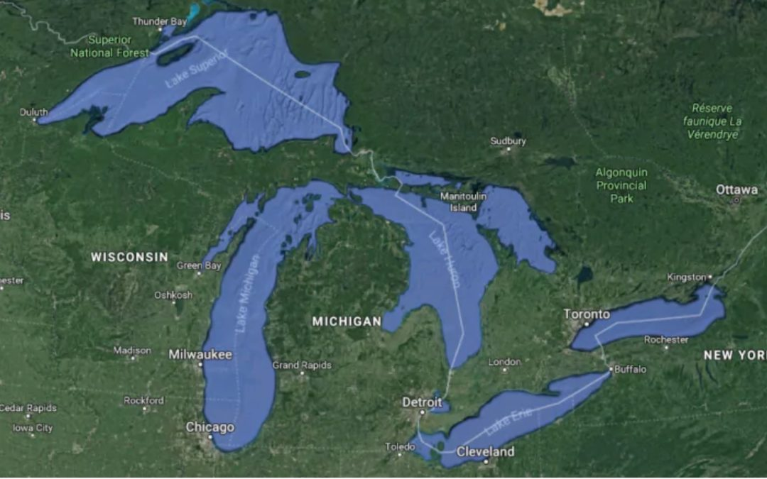 Why a sudden spike in the temperature of the Great Lakes has scientists worried