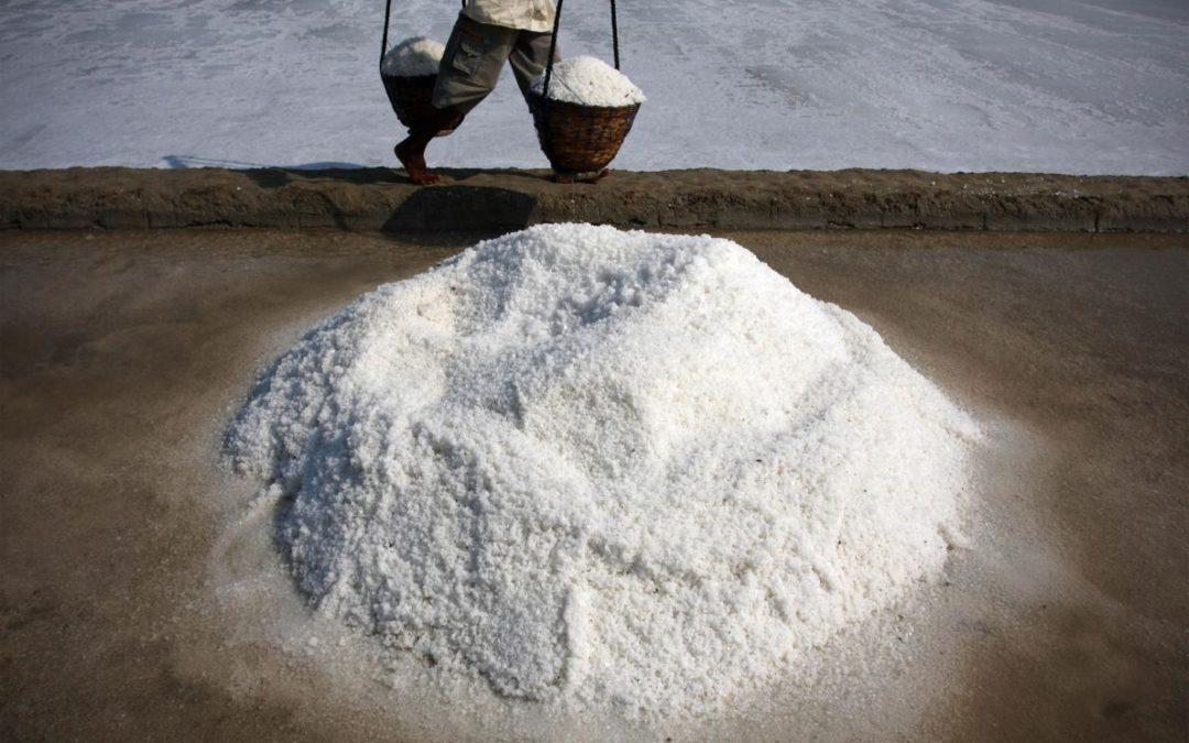 Microplastics found in 90 percent of table salt