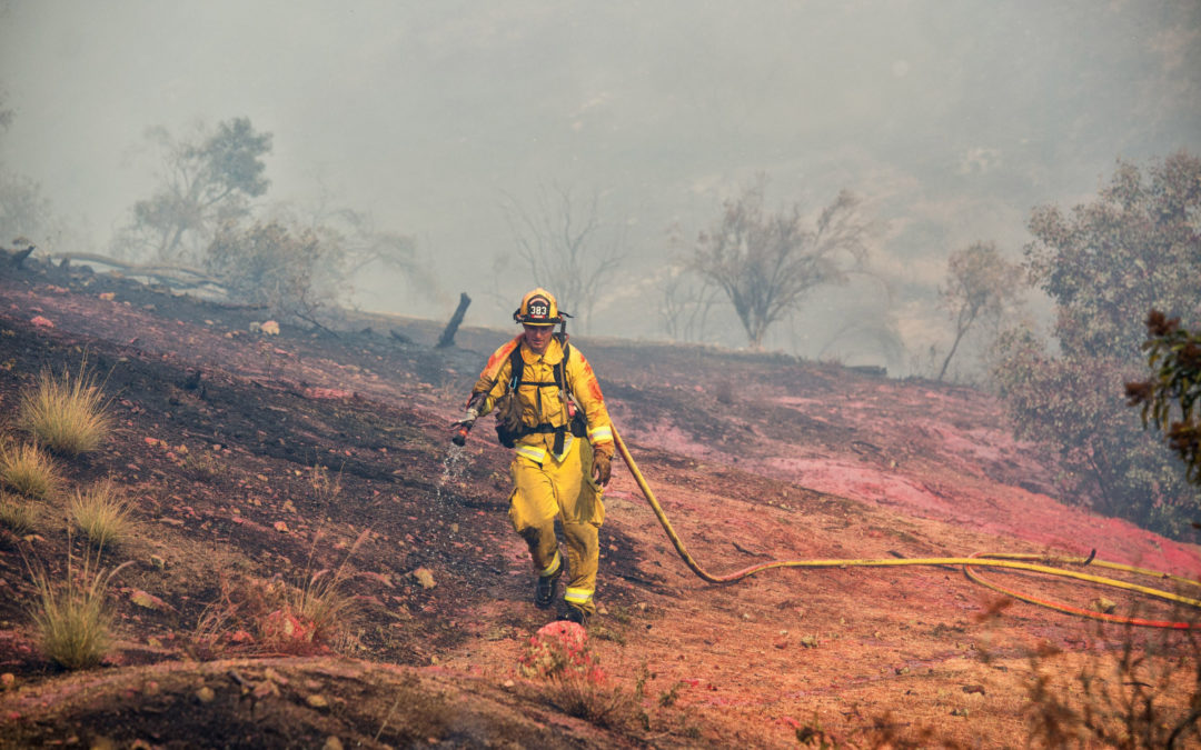 California Wildfire Likely Spread Nuclear Contamination From Toxic Site