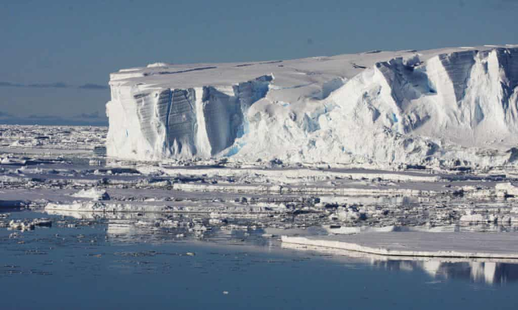 East Antarctica glacial stronghold melting as seas warm