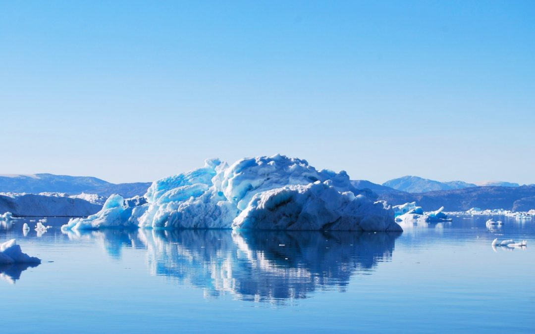 Greenland ice melting rapidly