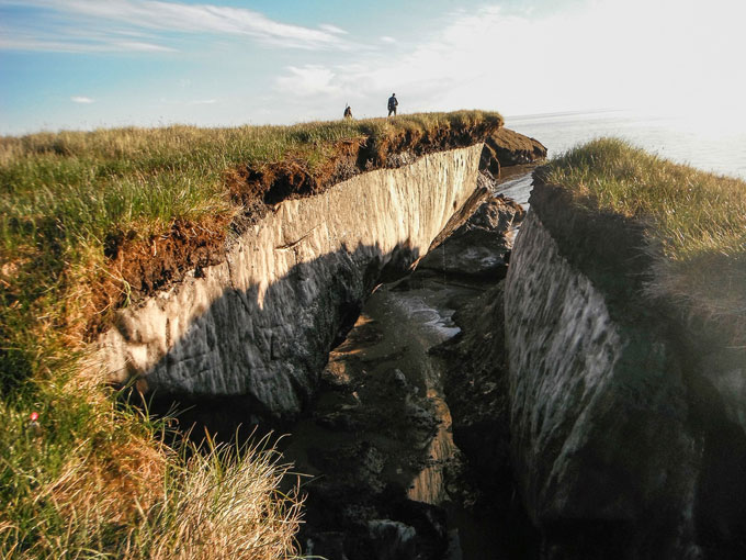 The permafrost bomb is ticking