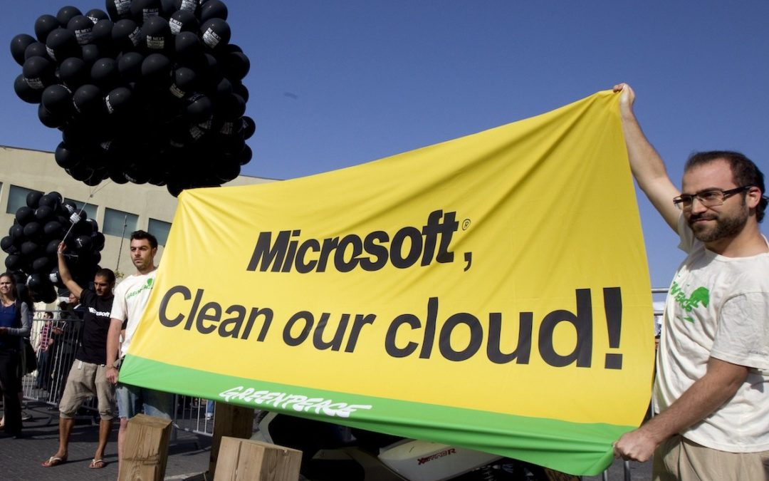 Amazon, Google, and Microsoft are quietly helping Big Oil destroy the climate