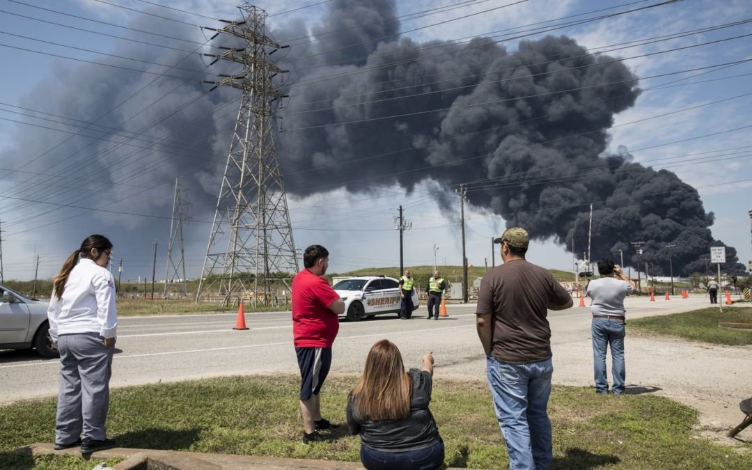 Cloud of Cancer-Causing Chemical Hangs Over the Houston Channel