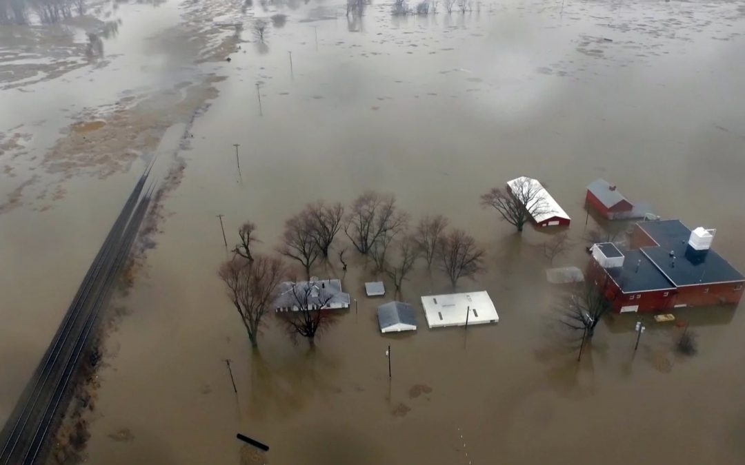 Farmers in the Midwest Face Decades of Recovery as Flooding Strips Away Crucial Soil