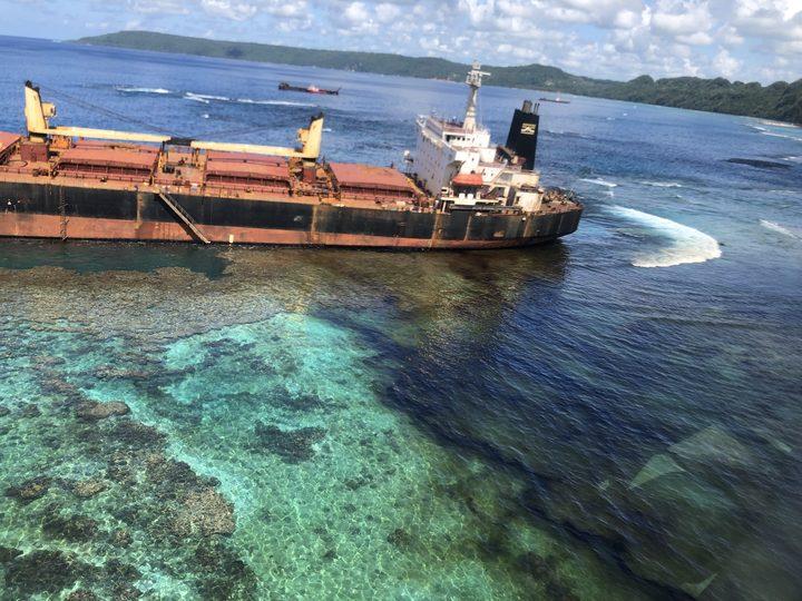 Oil spill disaster unfolds in Solomons marine reserve