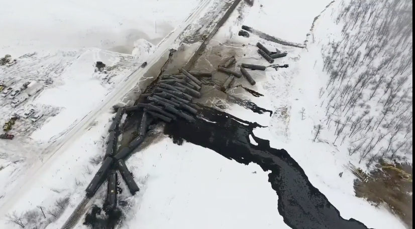 Another Oil Train Crashes as Alberta Government Gets Into Oil-by-Rail Business