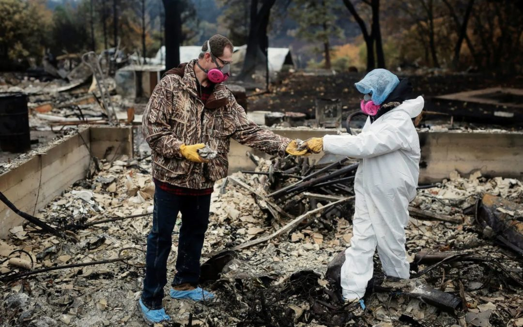 A growing problem after wildfires: Toxic chemicals