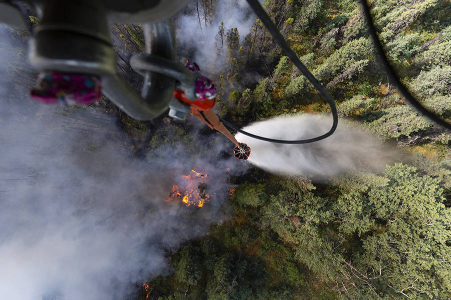 Alaska Chokes on Wildfires as Heat Waves Dry Out the Arctic
