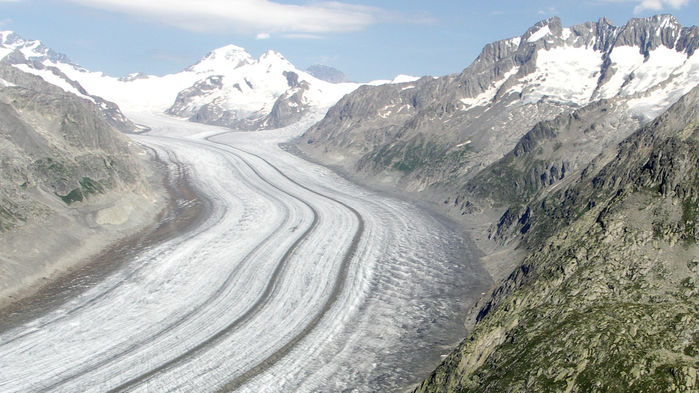 Europe's record heat melted Swiss glaciers