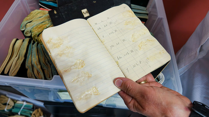 Century-old salmon-smeared notebooks reveal past bounty of fisheries