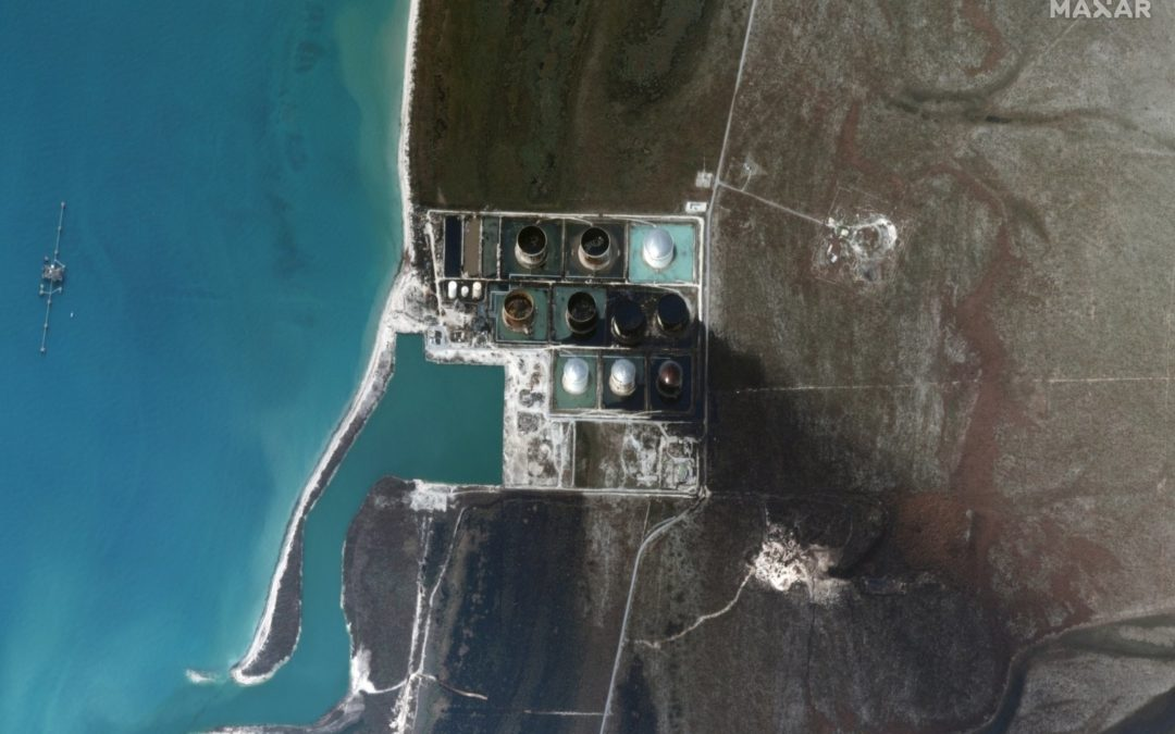 Oil Seen Leaking From Hurricane-Hit Facility On Grand Bahama Island
