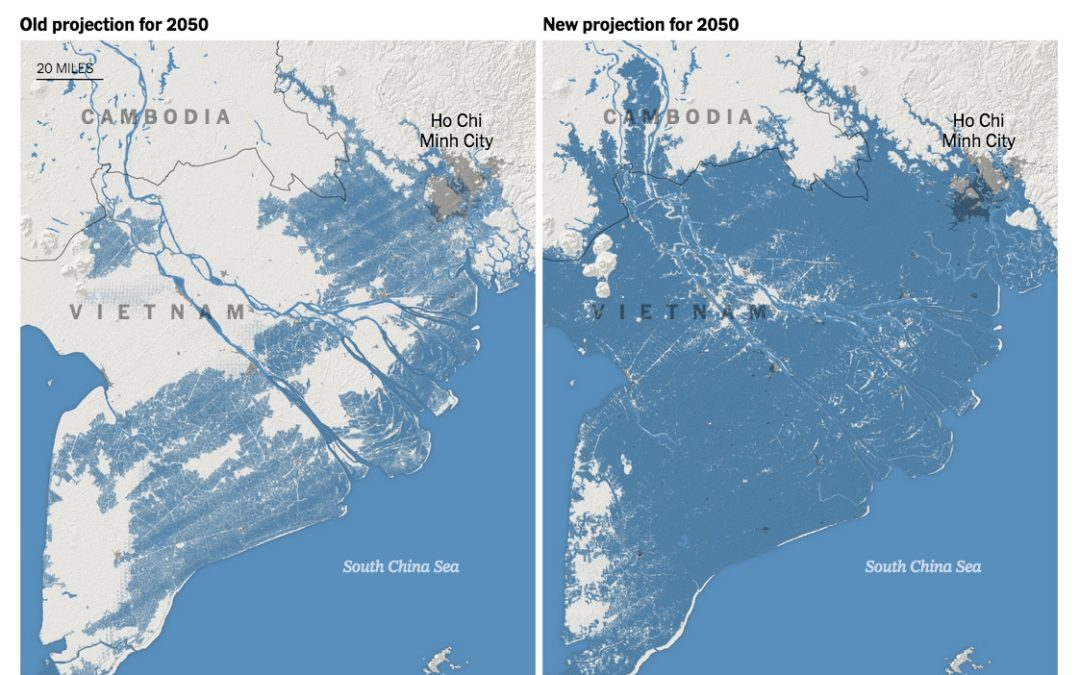 Rising Seas Will Erase More Cities by 2050